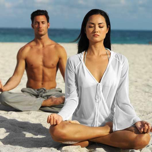 Создайте медитацию из секса.