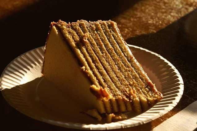 Какой вкусный торт.