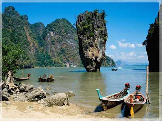 Маленькое племя в Таиланде.