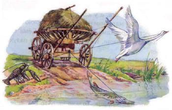 Лебедь, рак и щука. Часть I.