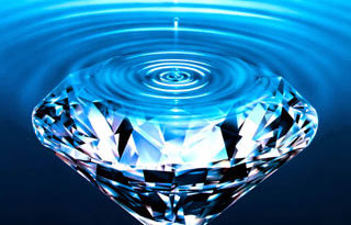 diamond-in-water