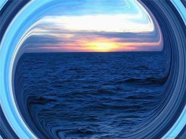 Идеальный круг природы.