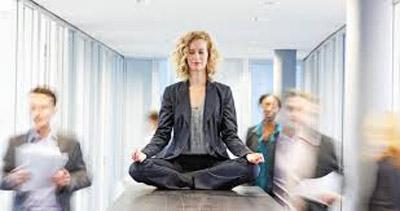 Время для медитации.